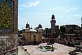 Before ascending the minaret - Courtyard of Wazir Khan Mosque, Lahore.jpg
