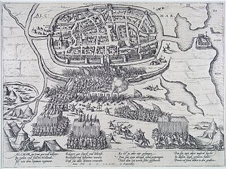 Siege of Alkmaar - The Siege of Alkmaar by Frans Hogenberg