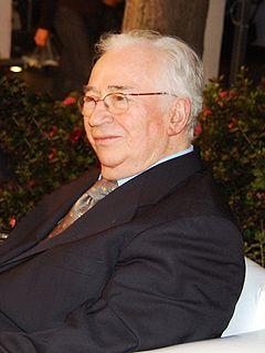 Belisario Betancur former President of Colombia