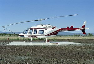 2009 Medair Bell 206 crash - A Bell 206L-4 Lone Ranger similar to the one involved in the incident.