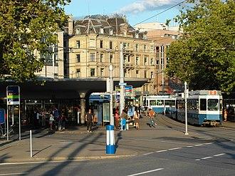 Bellevueplatz - Bellevue tram stop