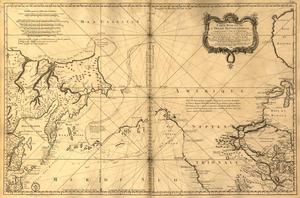 Jacques-Nicolas Bellin - Jacques-Nicolas Bellin: Carte réduite de l'océan septentrional..., from: L'hydrographie françoise, Paris 1766