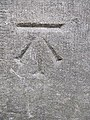 Bench mark on the Library - geograph.org.uk - 2124002.jpg
