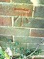 Benchmark on ^160 Prebendal Avenue - geograph.org.uk - 2135794.jpg
