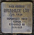 Bendorf, Bachstr. 1, Stolperstein Brunhilde Löb.jpg