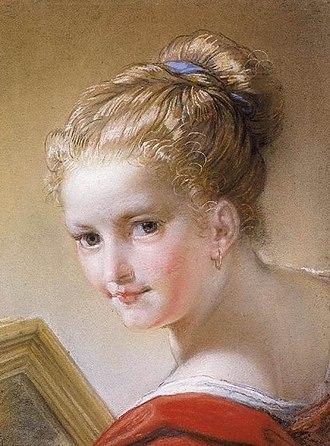 Benedetto Luti - Image: Benedetto Luti Head of a Young Girl WGA13782