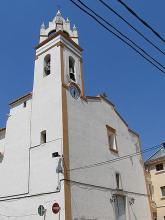 Benifairó de la Valldigna - The church of St John the Evangelist