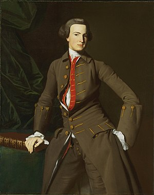Benjamin Pickman Jr. - Portrait of Benjamin Pickman, Sr., by John Singleton Copley