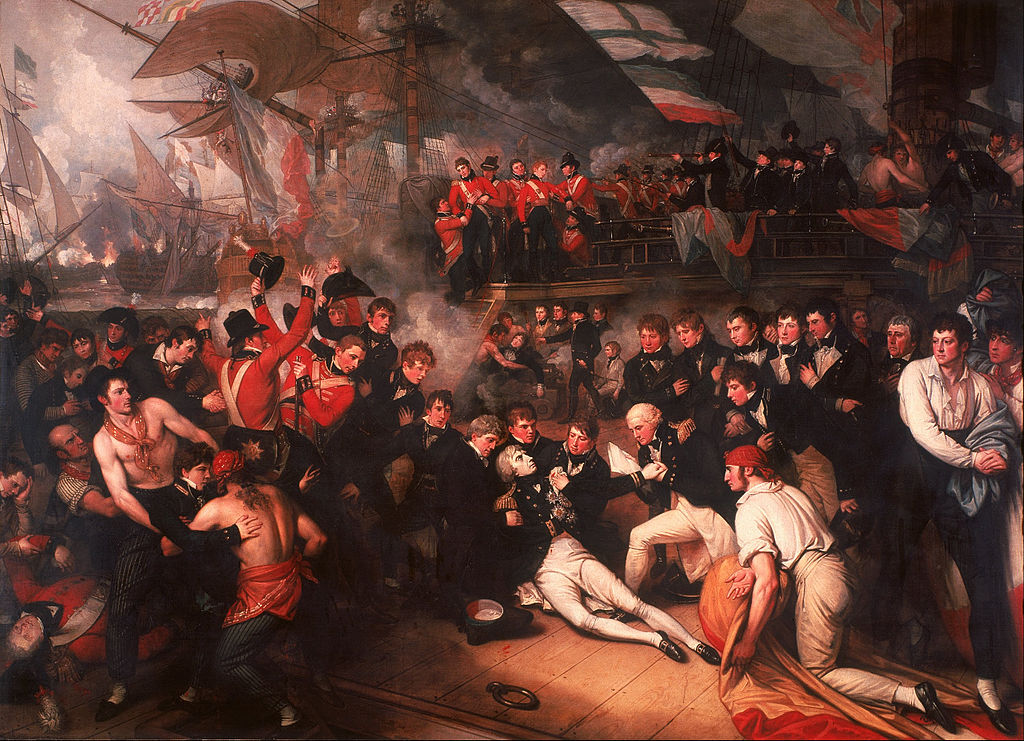 """""""The Death of Nelson"""" by Benjamin West – Joy of Museums"""