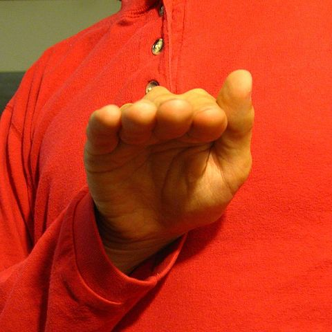 ASL bent b