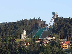 Bergisel today with ski jump