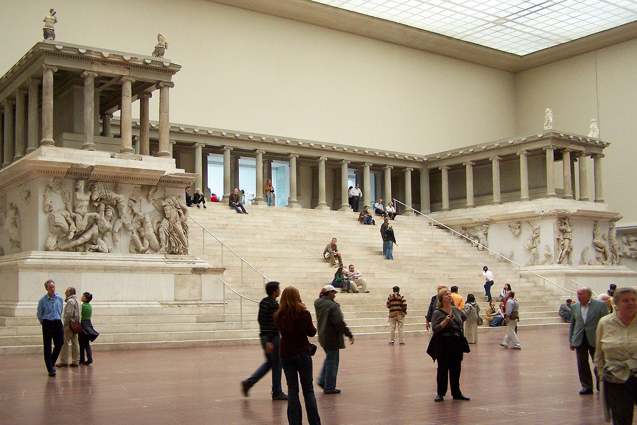 Pergamon Altar at the Pergamon Museum, Berlin