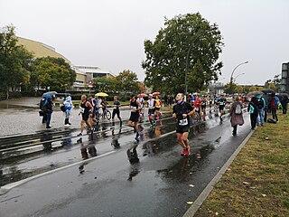 2019 Berlin Marathon Running race in 2019
