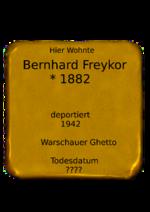 Bernhard Freykor