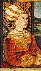 Portrait de Sibylla (ou Sybilla) von Freyberg (née Gossenbrot)