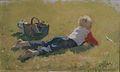 Bernt Grønvold - Lite barn i Grass.jpg