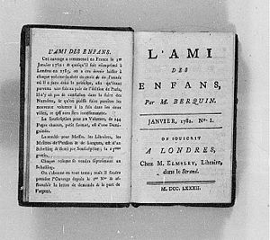 Arnaud Berquin - Title page from L'Ami des Enfans (1782)