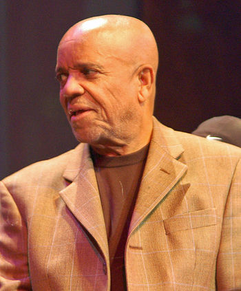 English: Berry Gordy at a performance of The H...