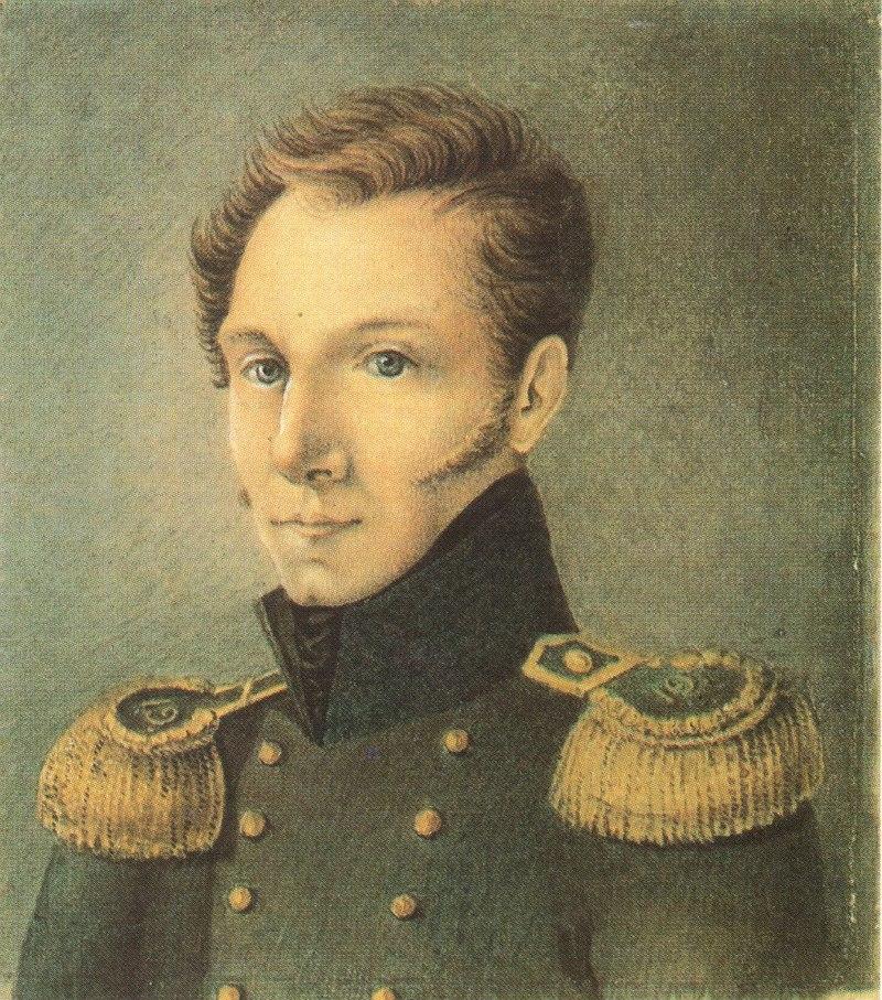 Бестужев Николай Александрович (Автопортрет, 1814-1815) .jpg