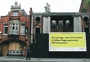 Hull Blitz - Burnt out National Picture Theatre (right) (2006)