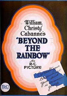 <i>Beyond the Rainbow</i> 1922 film by Christy Cabanne