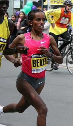 Bezunesh Bekele Boston 2009.jpg