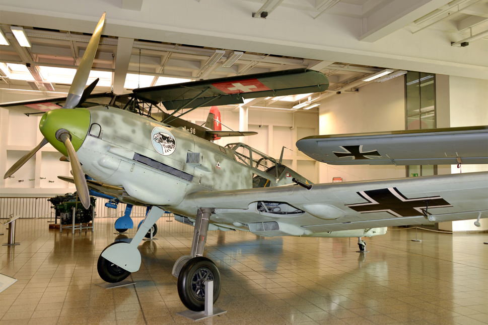 Bf-109E-3 at Deutsches Museum