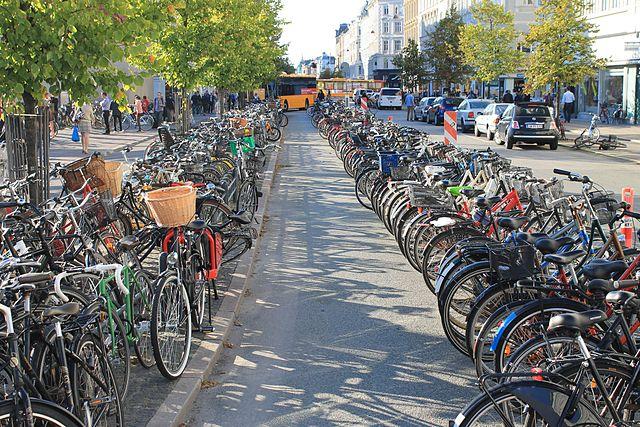 41% жителей Копенгагена предпочитают добираться на работу или учёбу на велосипеде