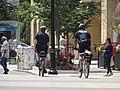 Bicycle cops on The Esplanade, 2016 07 05.JPG - panoramio.jpg