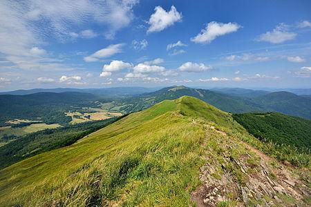 Bieszczady Mountains. Subcarpathian Voivodeship, Poland.