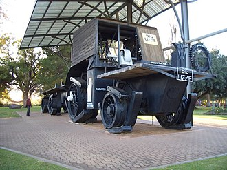 "Frank Bottrill - ""Big Lizzie"" in 2006"