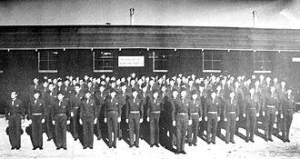 Webb Air Force Base - Big Spring Army Airfield - Army Flight School Headquarters Staff 1942