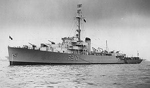 USS Sheboygan (PF-57) - Image: Billet 11
