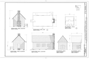 Biltmore Forestry School, Brevard, Transylvania County, NC HABS NC-402 (sheet 3 of 9).png