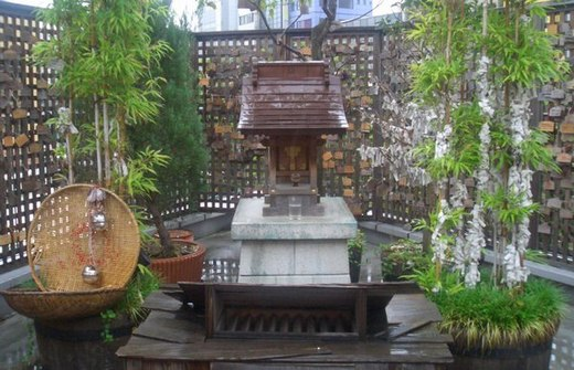 貧乏神神社 亀戸分社(東京都江東区)