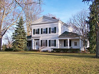 National Register of Historic Places listings in Livingston County, Michigan - Image: Bingham House
