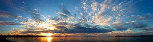 English: Birch Bay has some of the warmest wat...