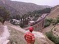 Bisheh Village, عبورقطارازروی پل راه آهن روستای بیشه - panoramio.jpg