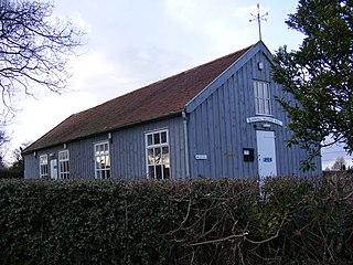 Blaxhall village in the United Kingdom