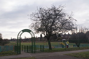 Bleak Hill Park - Image: Bleak Hill Park 2011 01 29