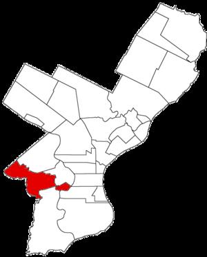 Blockley Township, Pennsylvania - Image: Blockley Twp 1854