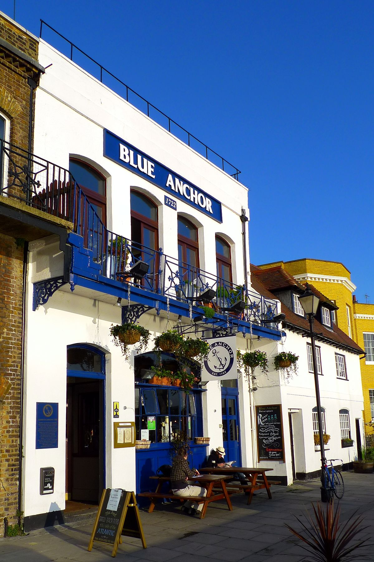Blue Anchor Hammersmith Wikipedia
