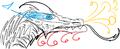 Blue eyed doodle dragon.png