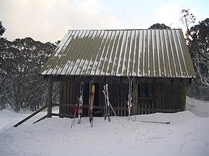 Mount Stirling - The Bluff Spur Hut at Mount Stirling