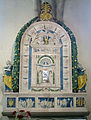 Bolsena, s. cristina, chiesa maggiore, int., ciborio di benedetto buglioni 02.JPG
