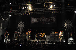 Bolt Thrower auf dem Party.San Open Air 2012