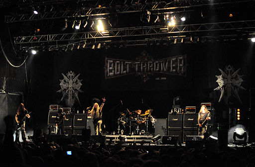 Bolt Thrower at Party.San Open Air 2012