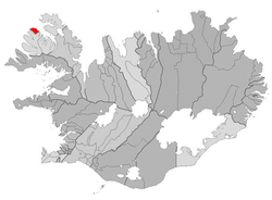 Location of the Municipality of Bolungarvík