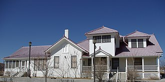 National Register of Historic Places listings in Rio Arriba County, New Mexico - Image: Bond House Espanola 1
