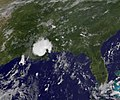 Bonnie Over Louisiana and Western Mississippi as Seen by GOES-13 Satellite (4827949638).jpg